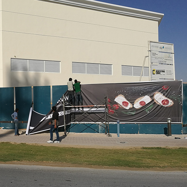 Fence Branding in Jumeirah Golf Estate